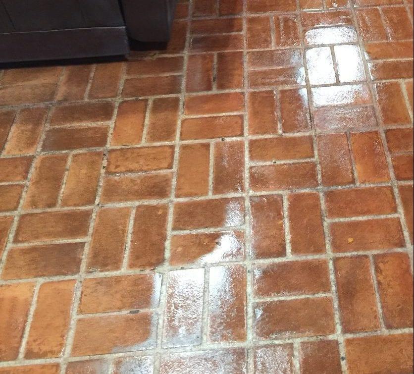 Brick Floor Sealed Dallas, TX