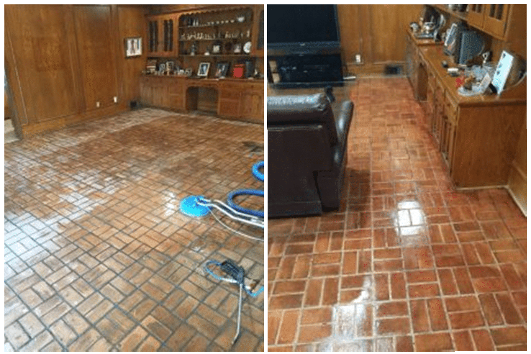 brick floor cleaning and sealing Dallas Tx