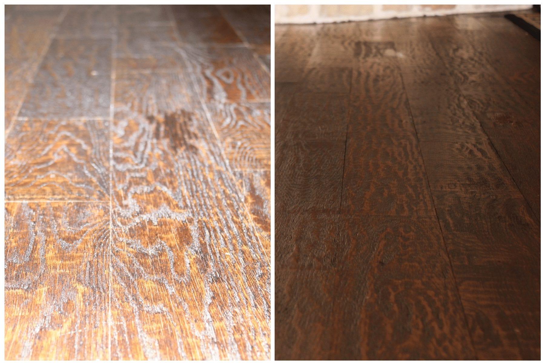 remove ash from hardwood floors Dallas, TX
