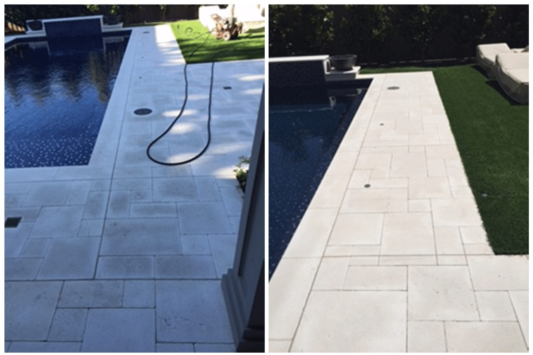 Soft Washing before and after Dallas, TX