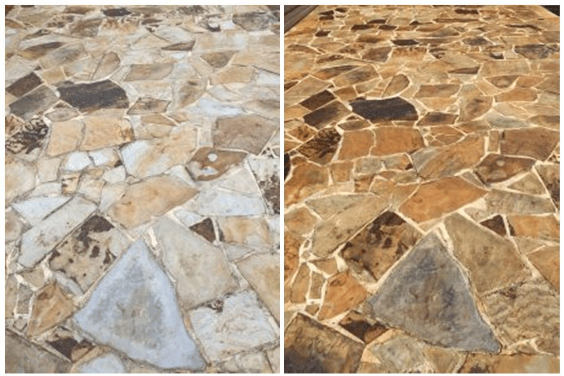 stone pathway sealing