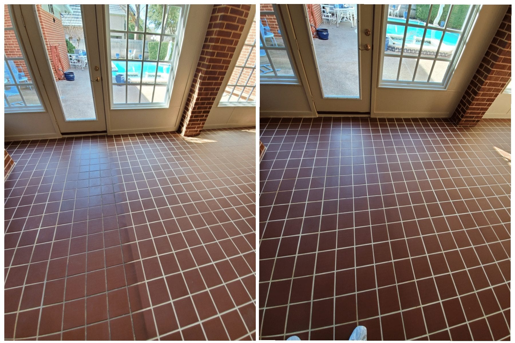 Before After Tile Grout