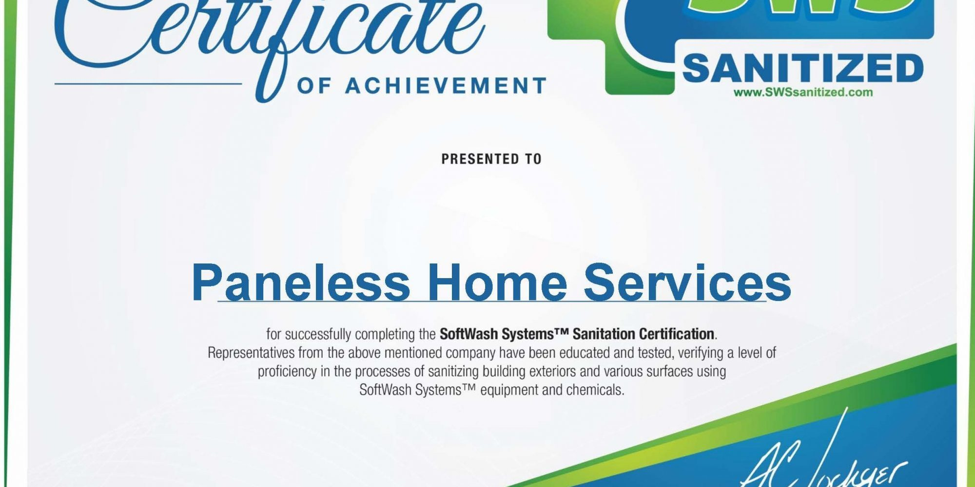 Company Sanitization Certificate e1586357275822